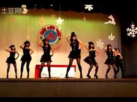 Harajuku Girls - Average Senior High Girls Dance in Dongguan, Guangdong, China