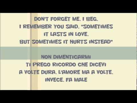 Adele – Someone Like You (Testo e traduzione in italiano.)
