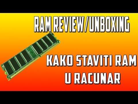 RC Ram Unboxing/Review Kako Staviti Ram u Racunar(TheEnvyGamer)