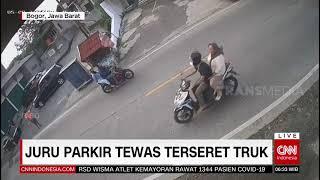 JURU PARKIR TEWAS TERSERET TRUK   REDAKSI PAGI 10/05/21