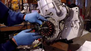 INSTALLING REBUILT MOTOR 2002 POLARIS SPORTSMAN 700 PART 3
