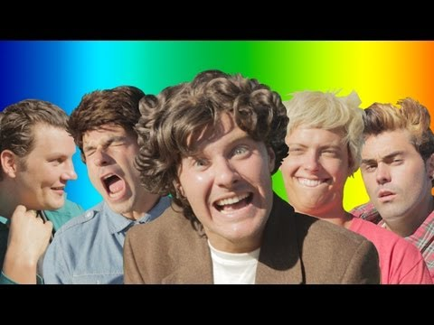 One Direction - live While We're Young Parody video