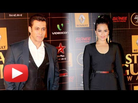Sonakshi Sinha Loses Weight On Salman Khan's Advice -- Star Guild Awards 2014