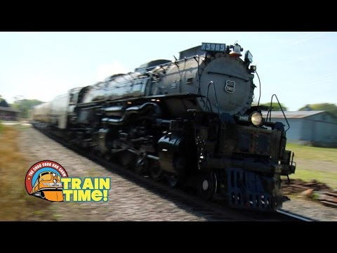 TRAIN TIME - UNION PACIFIC CHALLENGER - Choo Choo Bob Show