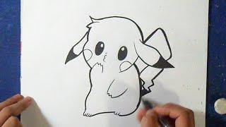 Como desenhar o pikachu (anime)
