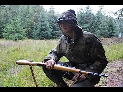 Airsoft War Tanaka Kar98. Scar. AK74Su Scotland HD