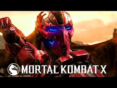 Mortal kombat X android challenge (Испытание Триборг Сектор)