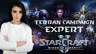 StarCraft 2 Wings Of Liberty кампания за терранов на эксперте ( 9 Часть)