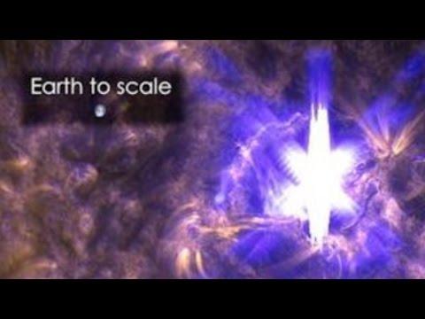 X-Class Flare, Earth directed CME, Solar Tsunamis & Sun strangeness