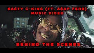Nasty C - King (Ft. A$AP Ferg) Music Video  [Behind The Scenes]
