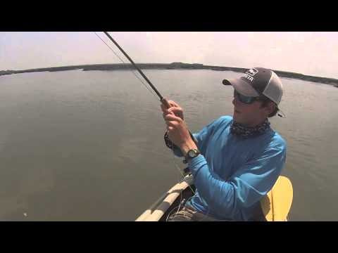 Summertime Ladyfish - Kayak Fly Fishing with Thomas MacDonald