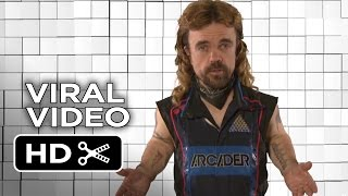 Pixels Viral Video - Electric Dreams Arcade at Comic Con (2015) - Peter Dinklage Movie HD