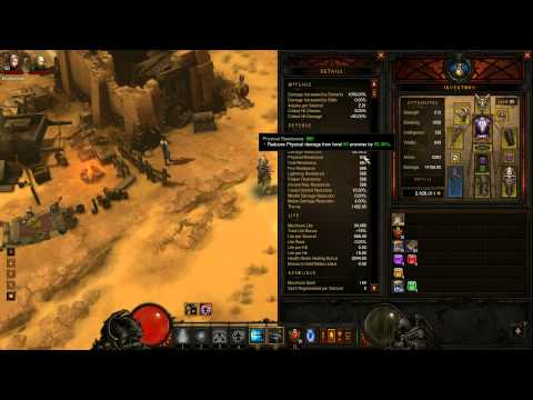 Diablo 3 Monk Inferno Setup v2