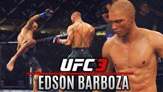 EA Sports UFC 3 Gameplay: Edson Barboza Going For Leg Kick TKOs! 👊