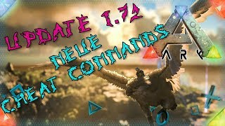 ARK PS4 🇩🇪 UPDATE 1.72 Neue Cheat Commands ARK Survival Evolved Playstation 4