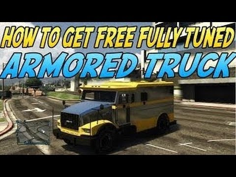 Gta 5 Online - Get A Free Fully Tuned Chrome Armored Truck! *very Rare* video