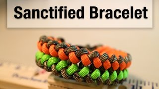 How To Make A Sanctified Paracord Bracelet
