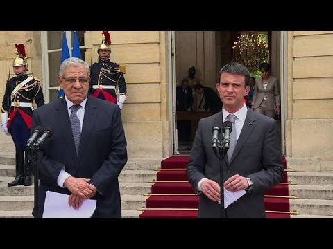Manuel Valls reçoit son homologue égyptien