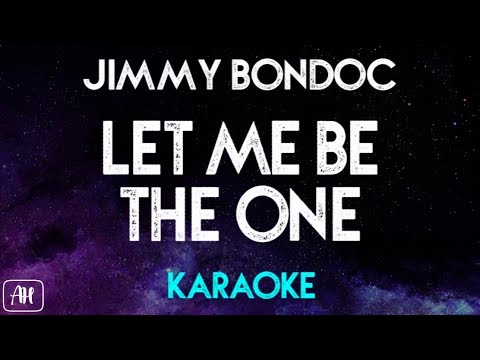Jimmy Bondoc - Let Me Be The One (KaraokeInstrumental) [Piano Version]