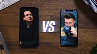 Galaxy S9 vs iPhone X: Part 1! [w/MrMobile]