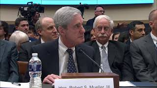LIVE: Robert Mueller Testimony: Former Special Counsel Speaks About His Report