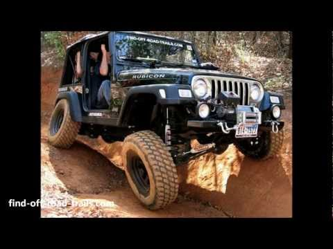 Jeep Wrangler Rubicon Off Road Action - Black Betty