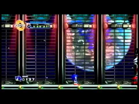 Sonic the Hedgehog 4: Episode 1- EGG Station Zone, Final Boss, Credits, Good Ending