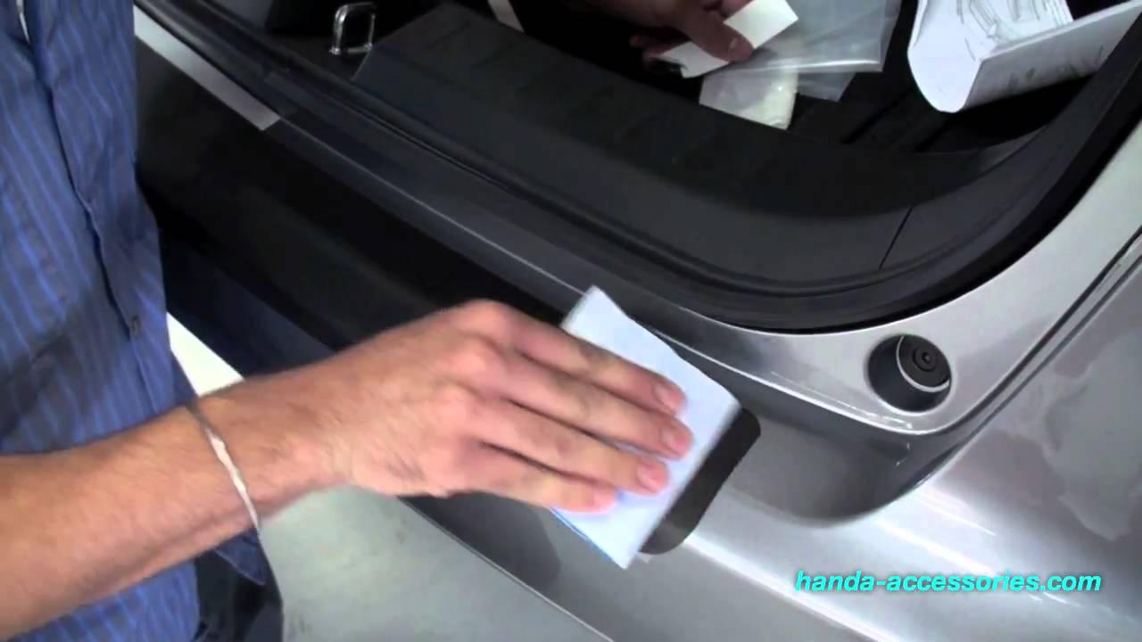 Honda Fit Rear Bumper Protector Installation Honda