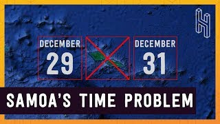 Why Samoa Skipped December 30, 2011