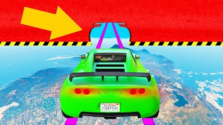 Most IMPOSSIBLE Skillcourse EVER Made! (GTA 5 Funny Moments)