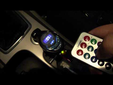 MP3 Player FM Transmitter - SKU 10130