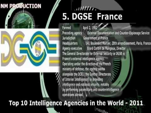 Top 10 Intelligence Agencies in the World   2011 by American Crime News Report