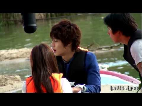 【Fancam】Actor Kimhyunjoong Making Film ⑨ : Playful Kiss...