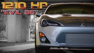 "1210HP Toyota FRS - 2JZ Powered ""Evil 86"" feature"