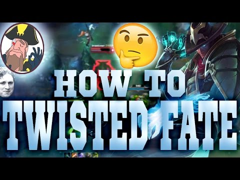 Tobias Fate Teaching You How To Play TWISTED FATE ft. Dyrus | League of Legends