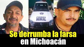 Se Derrumba La Farsa En Michoac�n
