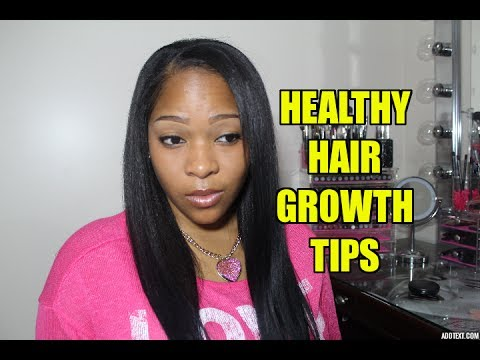 11 Tips To Healthy Relaxed Hair Growth YouTube