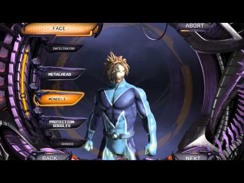 DC Universe Beta - Character Creation