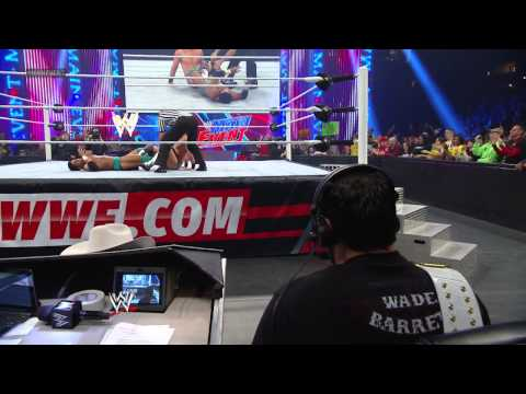 The Miz vs. The Prime Time Players - 2-on-1 Handicap Match: WWE Main Event April 3, 2013