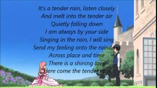 Soredemo Sekai wa Utsukushii-Tender Rain [full version] in English Lyrics