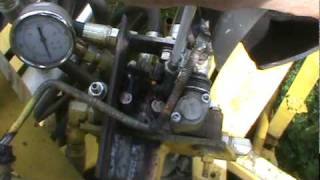 Homemade hydraulic joystick.MPG