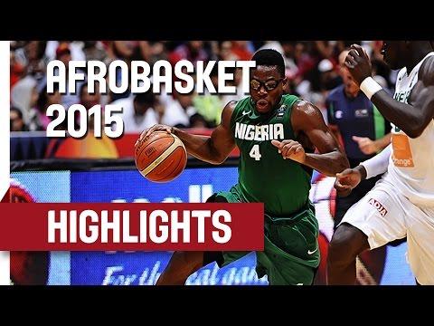 Senegal v Nigeria - Game Highlights - Semi Final - AfroBasket 2015