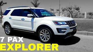 📽Adiós Ford Explorer 2017 Camioneta SUV De Lujo 7 Pasajeros