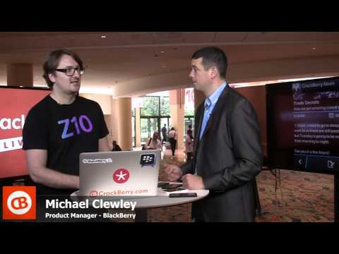 CrackBerry Live: BlackBerry Live General Session Debrief with Michael Clewley