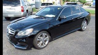 *SOLD* 2014 Mercedes-Benz E350 Sport Walkaround, Start up, Tour and Overview