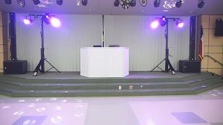 Dallas Fort Worth DJ Gig Log RCF Speakers Elementary School Dance