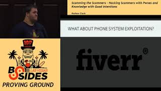PG - Scamming the Scammers - Becoming the Robin Hood of the Phones - Nathan Clark