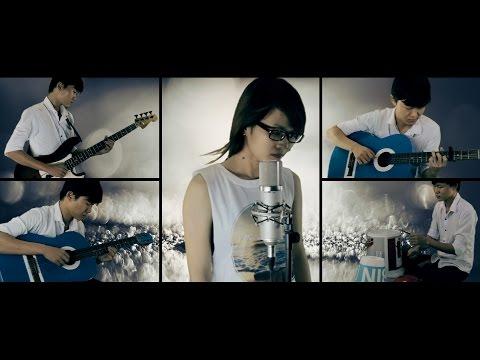 Hoa Tím Người Xưa - Ái Tâm ft Mitxi Tòng - Acoustic Cover