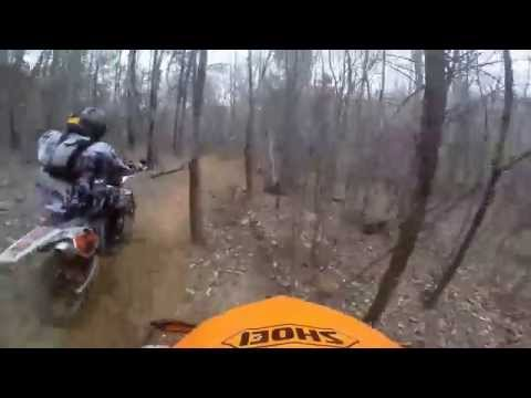 2014 Denver NC Hare Scramble First Race Master C 50+ lap 1