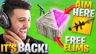 Epic ACCIDENTALLY Brought Back This BANNED Trick! (Fortnite Battle Royale Chapter 2)